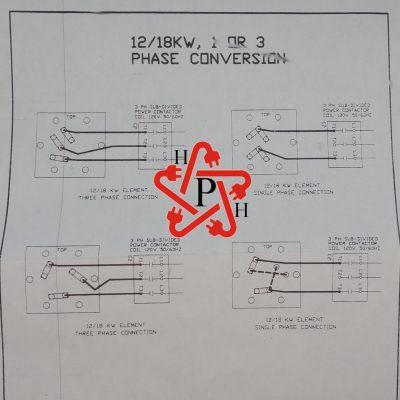 12kw 18kw conversion specs