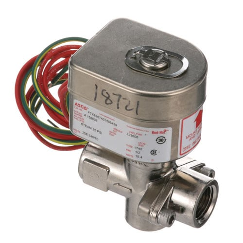 "STEAM SOLENOID VALVE 1/2"" 240V"